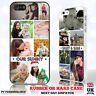 PERSONALISED PHOTO COLLAGE WITH TEXT PHONE CASE COVER FOR APPLE IPHONE SAMSUNG