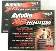 Autolite XP5243 Xtreme Performance Iridium Spark Plug SET(8)