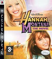 PS3 Hannah Montana The Movie Video Game Playstation NTSC T423