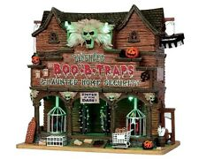 Lemax Spooky Town Halloween 2015 Banshee's Boo-B-Traps #55912 New in Box