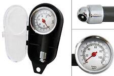 0 - 7,5 bar Air Gauge Tire Tyre Pressure Gauge Manometer Bike Car Truck + Box