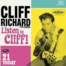 Cliff Richard - Listen to Cliff! + 21 Today - Cliff Richard CD QIVG The Cheap
