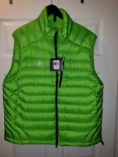 RLX Ralph Lauren Mens Water Repellent Green Down Vest XXL BRAND NEW