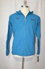 MSRP 150 NWT Nike Court Tennis Nadal Blue Jacket Sz M Medium