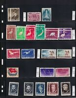ROMANIA 8 STOCK PAGES COLLECTION LOT 178 STAMPS