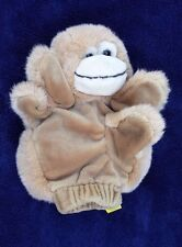 HAPPINESS ALWAYS 1995 Plush Monkey Hand Puppet Story Teller