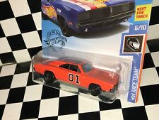 "Hot Wheels 1969 Dodge Charger - ""GENERAL LEE - DUKES OF HAZZARD"" custom"