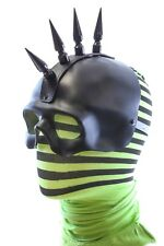 """Mohawk 3"""" Spike Skull Mask Cosplay Punk Goth Mask Halloween Party"""