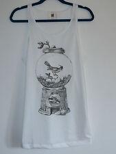 Gentleman Bird Gacha Machine Nest Vest Top / Dress - Size 10-12 T- Shirt Kitsch