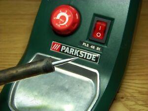 Parkside SMD Slim Cone 0.3mm Soldering Iron Tip PLS48 A1 B1 C1 D2 Lidl Aldi M4