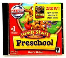 JumpStart Advanced Preschool 2002 Pc Cd Ages 2-4 w/ User's Guide