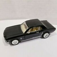 """5"""" Kinsmart 1964 1/2 Ford Mustang Diecast Model Toy Car 1:36 Scale Black"""