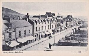 Vintage Scotland Galashiels Bank Street, Commerce, Reliable Series