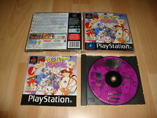 POCKET FIGHTER LUCHA DE CAPCOM PARA SONY PS1 USADO COMPLETO