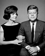 JOHN & JACKIE KENNEDY Photo Picture JFK JACQUELINE President Portrait Print 8x10
