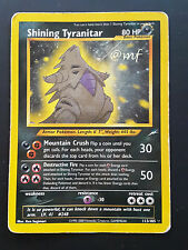 SHINING TYRANITAR 113/105 gd - NEO DESTINY -  POKEMON [MF]