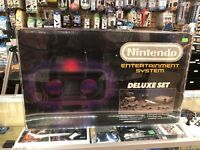 1 Box Protector Nintendo Deluxe Set NES Thick .50mm Plastic SYSTEM NOT INCLUDED!