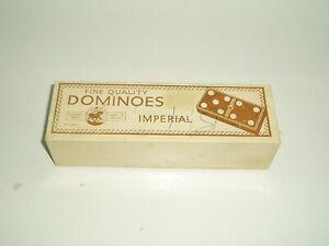 Vintage Crystalite Imperial Dominoes. St George Series with Spinners. No 35/22.