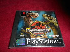 WARPATH JURASSIC PARK NEW AND SEALED SONY PLAYSTATION PSONE PS1 PS2 PAL