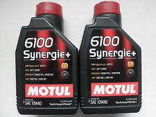 MOTUL 6100 SYNERGIE+ 10W-40 ACEA A3 / B4 TECHNOSYNTHESE per MERCEDES - BENZ 2 LT
