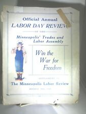 1918 LABOR DAY REVIEW, MINNEAPOLIS