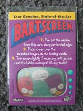 Skybox the Simpsons Genuine State of the art Bartscreen Decoder Card RARE!!