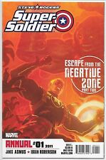 Captain America: Steve Rogers Super-Soldier Annual #1 Asmus Marvel Comics 2011