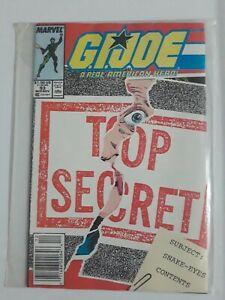 G.I. Joe #93 (Marvel 1984) High grade key collector comic John Cena cgc ready