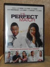 The Perfect Match (DVD, 2015) Terrence Jenkins Cassie Ventura Paula Patton