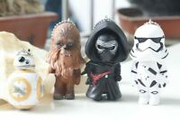 Star Wars Awakens keychain action figure toy model Darth Vader Stormtrooper R2D2