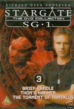 STARGATE SG-1 - THE DVD COLLECTION - DVD 3 SCI-FI FREE POST IN UK