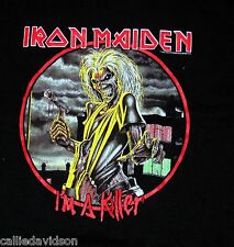 IRON MAIDEN I'm A Killer women's girl's T-Shirt Eddie Size XL 2003