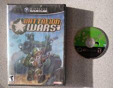 BATTALION WARS GAMECUBE Game w/ Box
