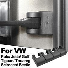4x Door Stopper Protection For VW Scirocco Polo Golf Tiguan Jetta ABS Black