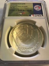 2014 Baseball HOF HALL FAME  Silver $1  NGC MS70 Toronto Blue Jays