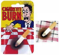 Fausse cigarette mégot avec brûlure à utiliser sur nappe ou textile ou theatre