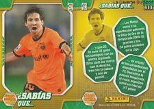 N°411 LIONEL MESSI # ARGENTINA FC.BARCELONA MEGACRACKS CARD PANINI LIGA 2011