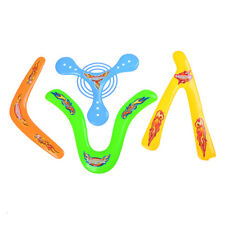 Kids 4 Shapes Colorful Boomerang Lightweight Genuine Returning Throwback Toy CH