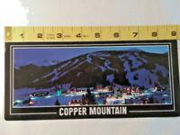 Vtg Postcard ~ Copper Mountain Ski Resort Colorado Night View ~ Ships FREE
