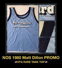 1980 My Bodyguard Movie Matt Dillon FOX 70's Bruce Lee Tank Top nos Vtg T-Shirt
