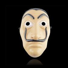 La Casa De Papel Maske Salvador Dali Wimperntusche Geld Heist Cosplay Spoof Prop
