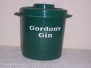 vintage gordons gin ice bucket 1970s 99p no reserve