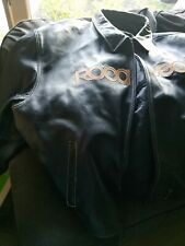 Rocawear Leather Navy/Tan Jacket - 6XL