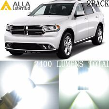 Alla Lighting Front Turn Signal Light Bulb Blinker 3157 White LED Bulb for Dodge