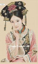 Cross stitch chart Oriental Lady No. 265 flowerpower37-uk-.free uk P&p