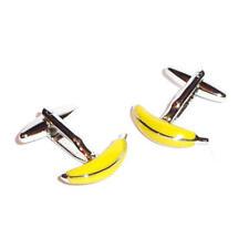Pair of Fun Peeled Banana Cufflinks Presented in a Box X2AJ147
