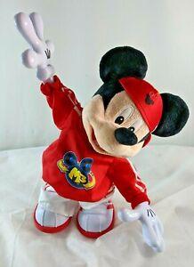 "RARE Disney Mickey Mouse M3 Break-Dancing/Rapping Doll (2011 Lim. Ed.) 15"" tall"