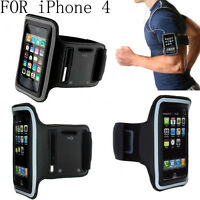 ADJUSTABLE NEOPRENE STRAP ARM BAND HOLDER FOR IPOD TOUCH 2 3 4 & IPHONE 3G 3GS