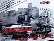 Catalogo MARKLIN Novità 1994 Z H0 sc.1 - ITA -  [TR.24]
