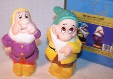 Disney Snow White Sneezy & Bashful Salt Pepper Shaker Set